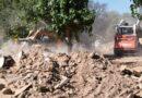 Pocito comenzó con el levantamiento de escombros y limpieza de zonas afectadas