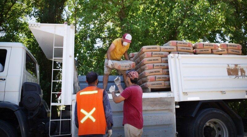 Pocito: Relevamiento y entrega de materiales con ayuda solidaria