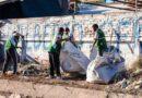 Capital: operativo de limpieza y desmalezamiento en el Barrio Costa Canal
